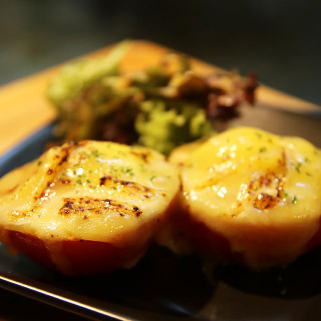 焼きトマトチーズ